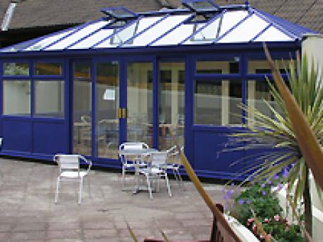 Blue Conservatory
